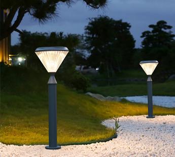 钻石系列太阳能草坪灯