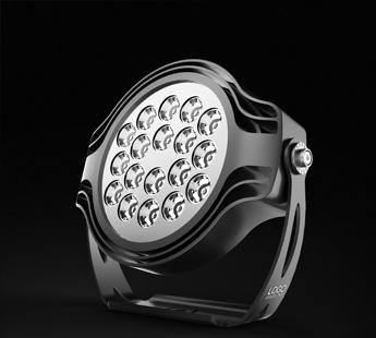 星轨LED投光灯设计