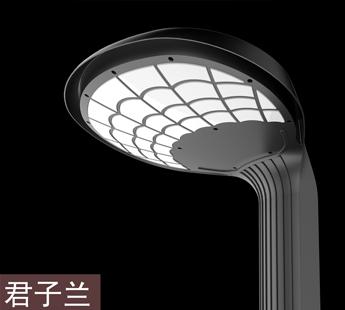 君子兰LED户外庭院灯设计